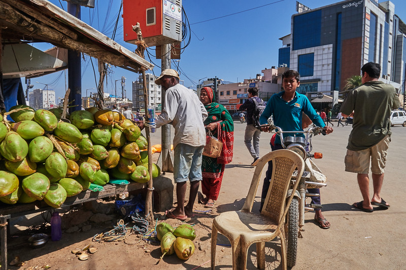Coconut Stand - Bangalore, India
