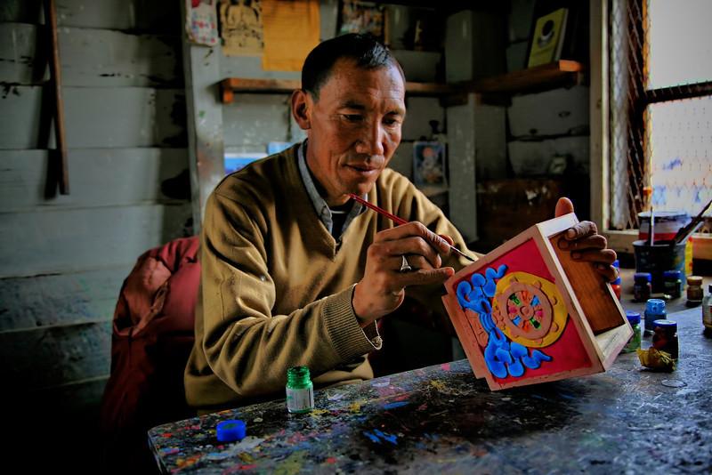 #417 Tibetan Artist