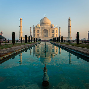 The iconic Taj