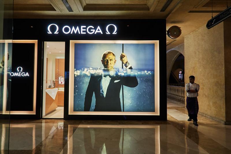 Omega Store, UB City - Bangalore, India