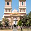 PONDICHERRY (PUDUCHERRY). TAMIL NADU. NOTRE DAME DE AGNES CHURCH.