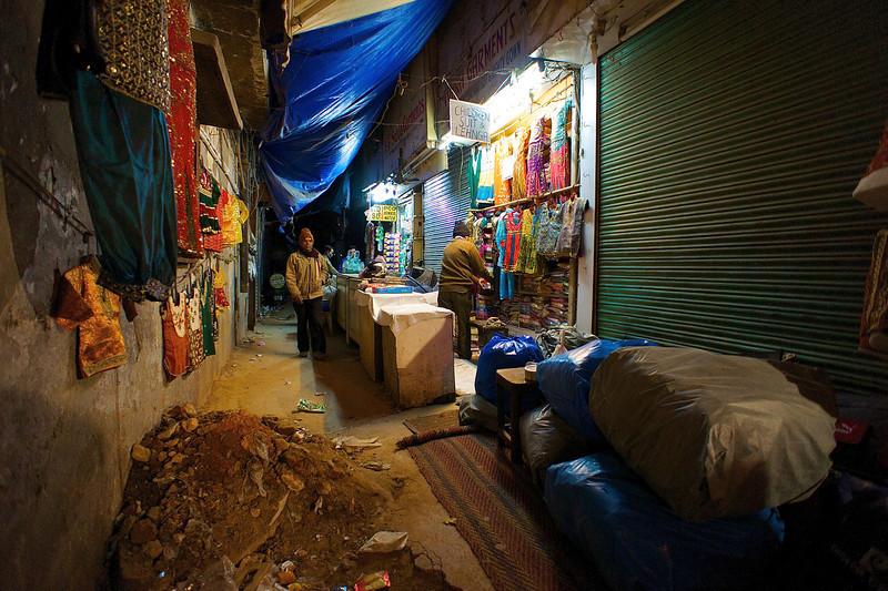 Back Alley Market - Delhi, India