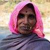 RAJASTHAN. OLD LADY WITH NOSE RING.