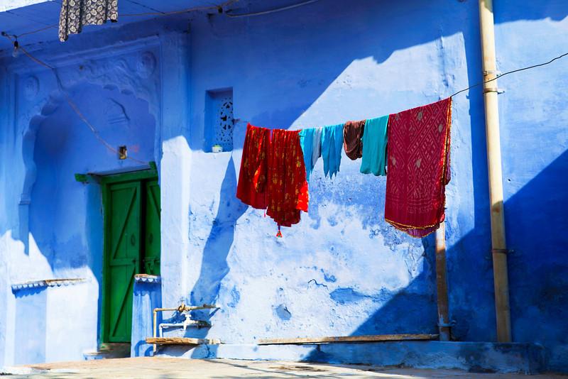 BLUE HOUSE. BUNDI. RAJASTHAN. INDIA.