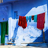 BLUE HOUSE. BUNDI. RAJASTHAN. INDIA.