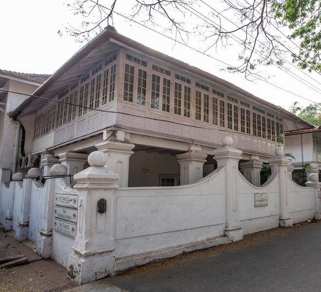 The Tower House in Kochi, Kerala, South India