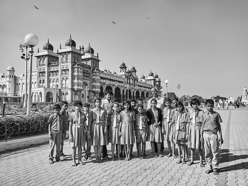 School Field Trip, Mysore Palace - Mysore, India