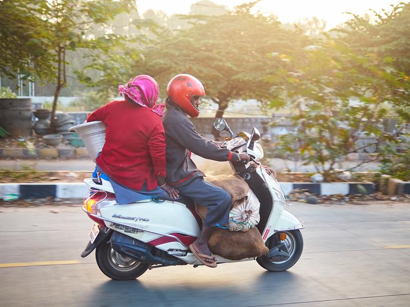 Scooter Transport - Bangalore, India