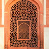 DELHI. HUMAYUN'S TOMB. CARVED DOOR | WINDOW.