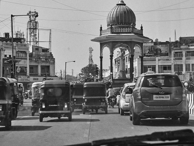 Majestic Traffic - Mysore, India