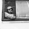 Man on Bus - Bangalore, India