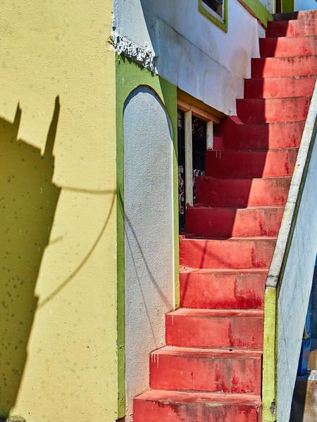 Staircase Abstract - Mysore, India
