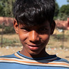 RAJASTHAN. A PORTRAIT OF A YOUNG INDIAN BOY.