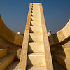 JAIPUR. THE JANTAR MANTAR. UNESCO WORLD HERITAGE SITE.