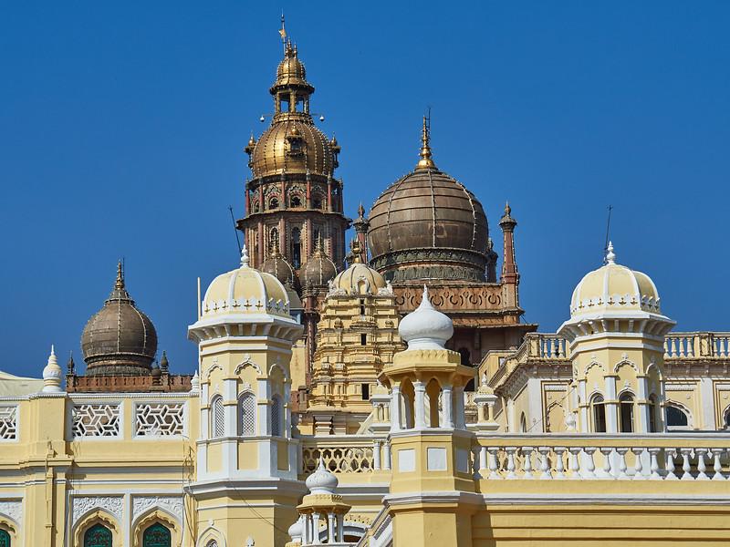 Domes Galore, Mysore Palace - Mysore, India