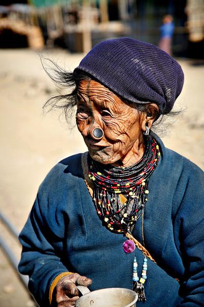 #405 Apatani Woman