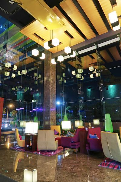 Aloft Bangalore at Night - Bangalore, India