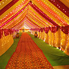 Wedding Tent Entrance - Delhi, India