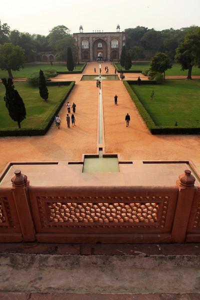 DELHI. HUMAYUN'S TOMB. VIEW FROM HUMAYUN'S TOMB.