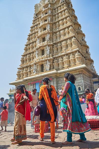 Vivid Color, Chamundeshwari Temple - Mysore, India