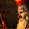 The sadhus of Benares (Varanasi, India)