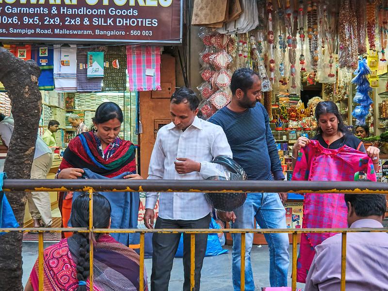 Couples Shopping - Bangalore, India