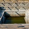 Bath in the Mahanavani Dibba, Hampi, Karnataka, India