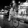 Rickshaw at Night - Delhi, India