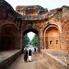 INDIA 2010. DELHI. HUMAYUN'S TOMB. JAN WILLEM VAN HOFWEGEN