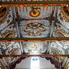 Ceiling of the St Thomas church in Palayur (Palayoor) in  the Thrissur district in Kerala state in southern India, Asia