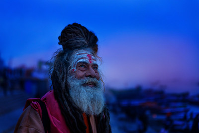 Dawn Sadhu, Varanasi, India