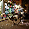 Bicycle and Litter - Delhi, India