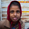BUNDI. RAJASTHAN. LITTLE INDIAN GIRL.