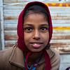 BUNDI. RAJASTHAN. LITTLE INDIAN GIRL.