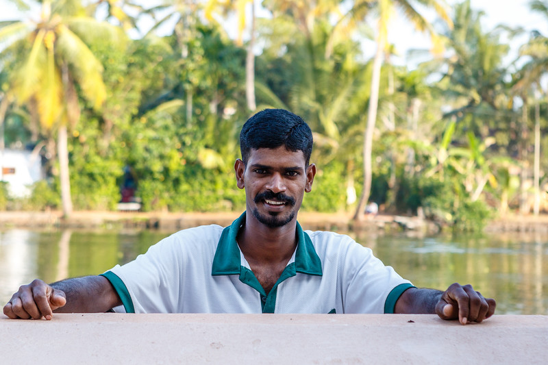 The Kerala backwaters are a network of brackish lagoons and lakes lying parallel to the Arabian Sea coast of Kerala state in southern India