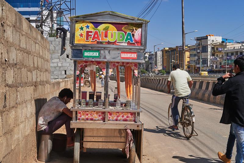Faluda Stand - Bangalore, India
