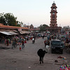 CLOCK TOWER AND MARKET. CENTRE OF JODHPUR. RAJASTAN. INDIA.