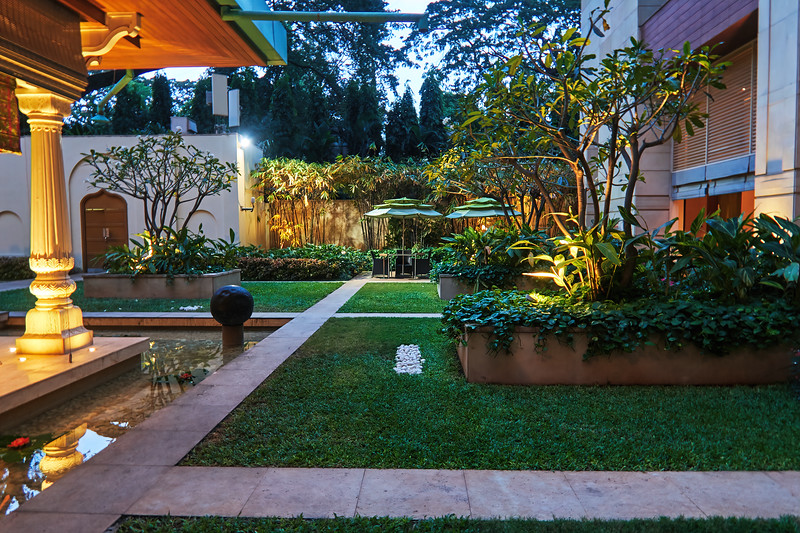 Grounds, ITC Gardenia - Bangalore, India