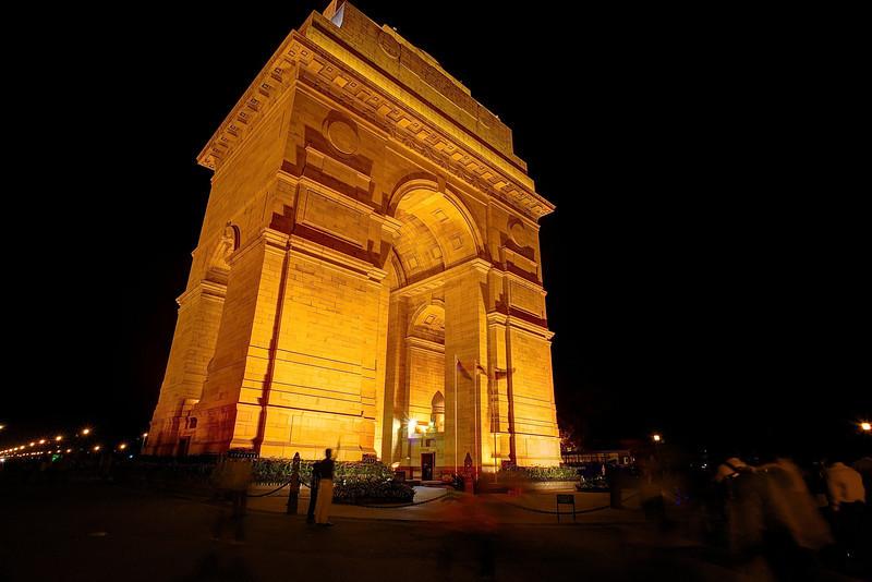 Golden India Gate - Delhi, India