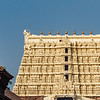 Exterior of the Sri Padmanabhaswamy Temple (Sree Padmanabhaswamy Temple), in Thiruvananthapuram (Trivandrium) in Kerala, South India, Asia