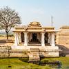 View at the Hemakuta Hill and temples in Hampi, Karnataka, South India, Asia