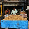 NORTHERN RAJASTHAN. PEANUT SELLERS.