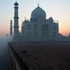 SUNRISE. TAJ MAHAL. AGRA. UTTAR-PRADESH. INDIA. [2]