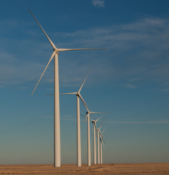 Lamar, Colorado wind turbines
