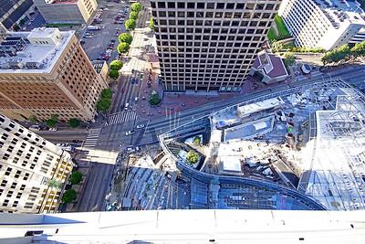 40th Floor, Wilshire Grand, LA, California