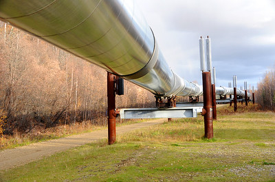Trans-Alaska Oil Pipeline - Fairbanks - Alaska
