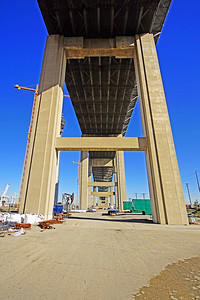 Gerald Desmond Bridge, Long Beach California