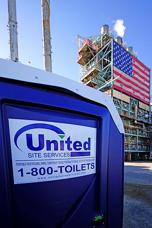United Site Services, Tesoro Refinery, California
