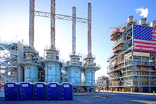 Tesoro Oil Refinery