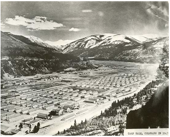 Camp Hale, outside Leadville, Colorado